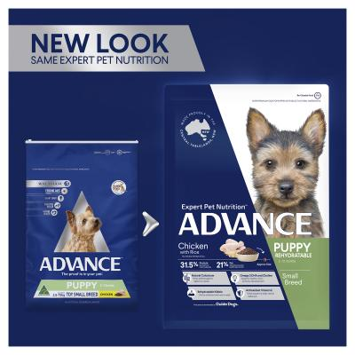Advance Chicken With Rice Toy/Small Breed Puppy Rehydratable 2-12 Months Dry Dog Food 3kg