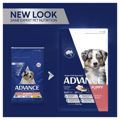 Advance Chicken All Breed Puppy 2-15 Months Dry Dog Food 3kg