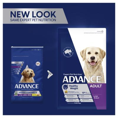 Advance Weight Control Large/Giant Breed Chicken Adult Dry Dog Food 26kg