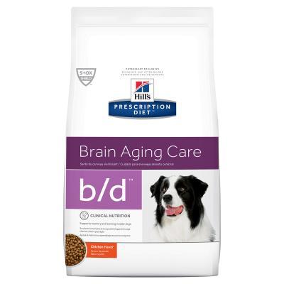 Hills Prescription Diet Canine b/d Brain Aging Care Chicken Dry Dog Food 7.98kg (8605)