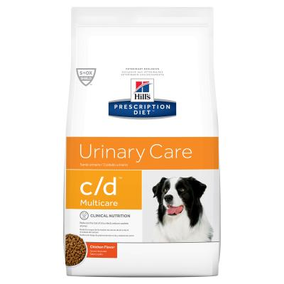 Hills Prescription Diet Canine c/d Urinary Care Multicare Chicken Dry Dog Food 7.98kg (10104)