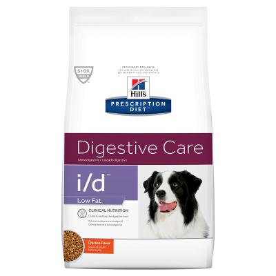 Hills Prescription Diet Canine i/d Digestive Care Low Fat Chicken Dry Dog Food 7.98kg (1862)