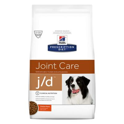 Hills Prescription Diet Canine j/d Joint Care Chicken Dry Dog Food 3.85kg (8620)