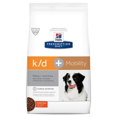 Hills Prescription Diet Canine k/d + Mobility Kidney Plus Joint Care Dry Dog Food 8.5kg (10867)
