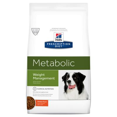 Hills Prescription Diet Canine Metabolic Weight Management Chicken Dry Dog Food 12.5kg (1953)