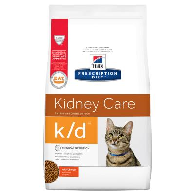Hills Prescription Diet Feline k/d Kidney Care Chicken Dry Cat Food 3.85kg (8696)