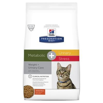 Hills Prescription Diet Feline Metabolic + Urinary Stress Dry Cat Food 2.88kg (10554)