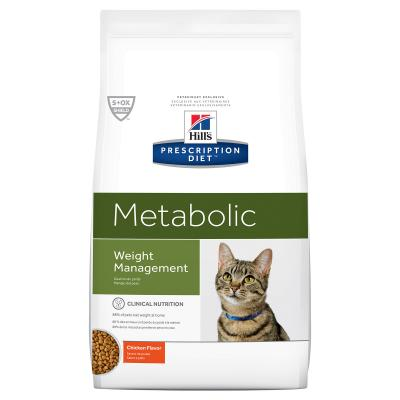 Hills Prescription Diet Feline Metabolic Chicken Dry Cat Food 1.5kg (10362HG)