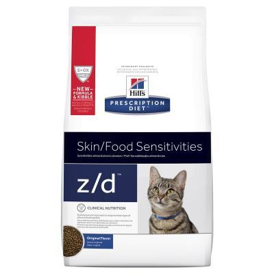 Hills Prescription Diet Feline z/d Skin/Food Sensitivities Original Dry Cat Food 1.8kg (7905)