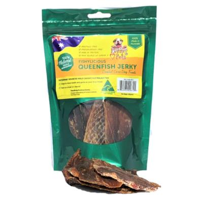 Loving Pets Queenfish Jerky Natural Dried Treats For Dogs 100gm