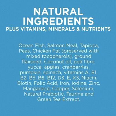 Ivory Coat Natural Health Grain Free Ocean Fish Salmon Coconut Oil Allbreed Adult Dry Cat Food 3kg