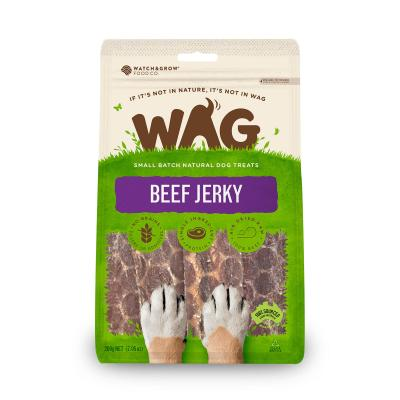 WAG Beef Jerky Natural Dried Treats For Dogs 200g