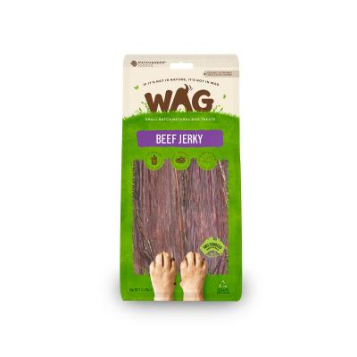 WAG Beef Jerky Natural Dried Treats For Dogs 50g