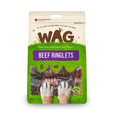 WAG Beef Ringlets Natural Dried Treats For Dogs 200g