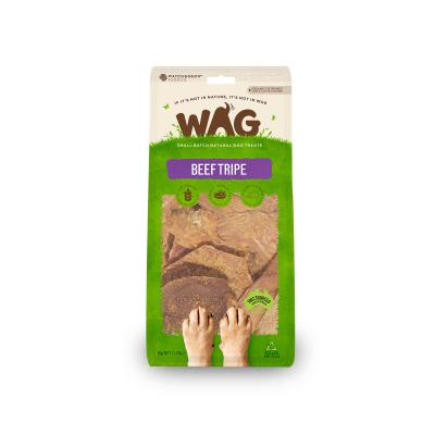 WAG Beef Tripe Natural Dried Treats For Dogs 50g