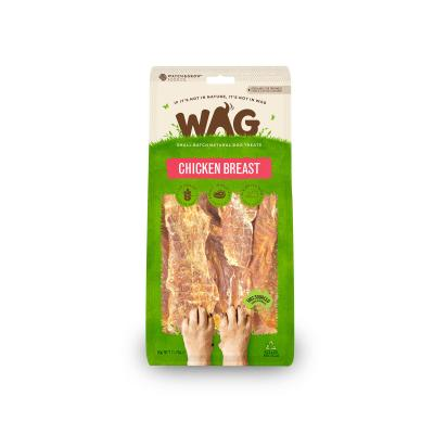 WAG Chicken Breast Natural Dried Treats For Dogs 50g