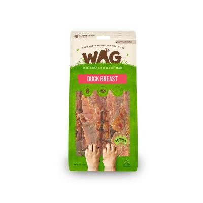WAG Duck Breast Natural Dried Treats For Dogs 50g