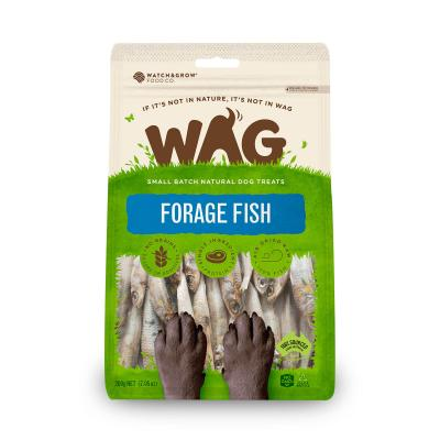 WAG Forage Fish Natural Dried Treats For Dogs 200g