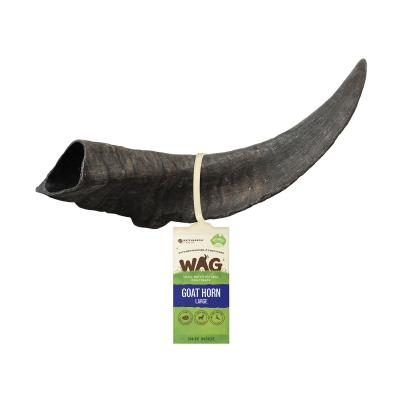 WAG Goat Horn Natural Dried Large Treat For Dogs