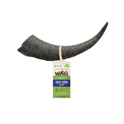 WAG Goat Horn Natural Dried Medium Treat For Dogs