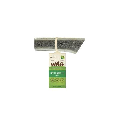 WAG Split Deer Antler Natural Dried Small Treat For Dogs