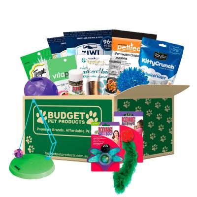Christmas Surprises Toys And Treats Box For Cats