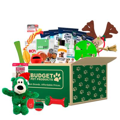 Christmas Surprises Toys And Treats Box For Dogs