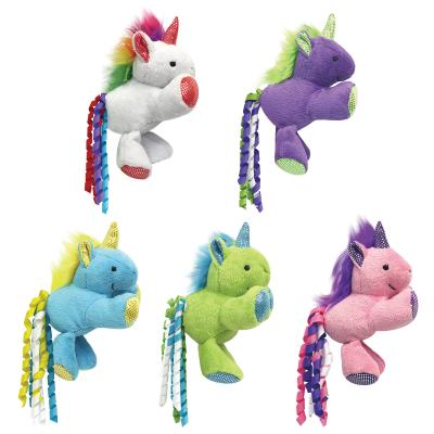 Multipet Unicorn Catnip Crinkle Plush Assorted Colours Toy For Cats