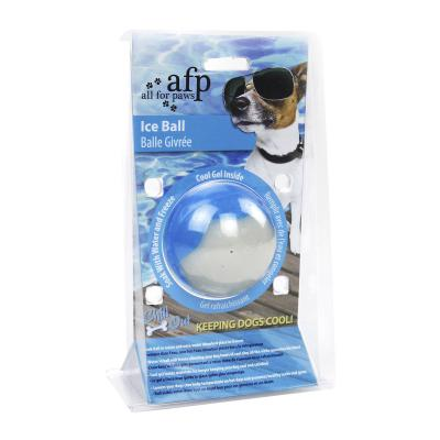 AFP Chill Out Ice Ball White Freezable Small Toy For Dogs