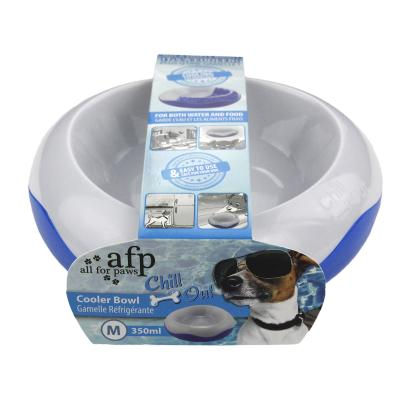 AFP Chill Out Cooler Pet Bowl Medium For Cats And Dogs 350ml