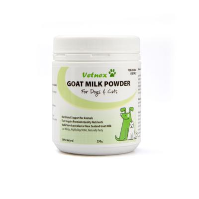 Vetnex Goat Milk Powder For Dogs and Cats 250gm