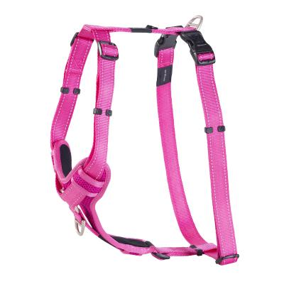 Rogz Control Reflective Padded Harness Pink XLarge For Dogs 60-100cm Girth