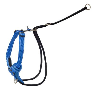 Rogz Utility Stop Pull Reflective Harness Blue XLarge For Dogs 60-100cm Girth