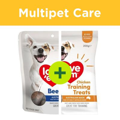 Multipet Plus - Love em Treats For Multidog Homes