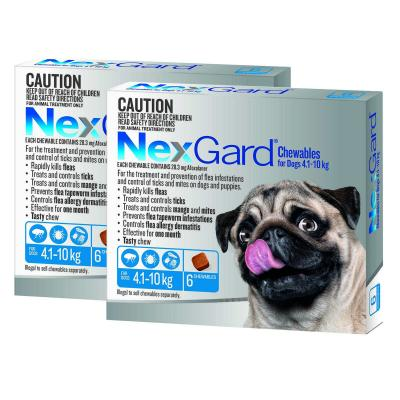 NexGard For Dogs Blue Small 4.1-10kg 12 Pack