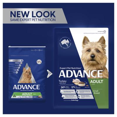 Advance Turkey Toy/Small Breed Adult 1-8 Years Dry Dog Food 8kg