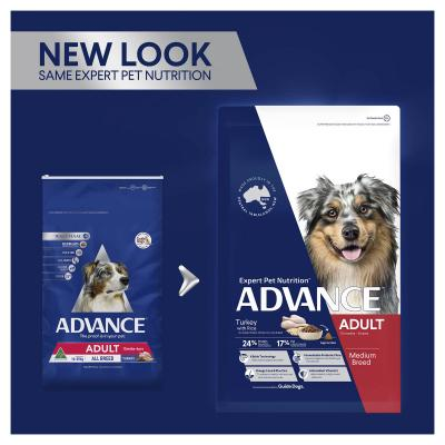 Advance Turkey All Breed Adult 15 Months - 6 Years Dry Dog Food 20kg