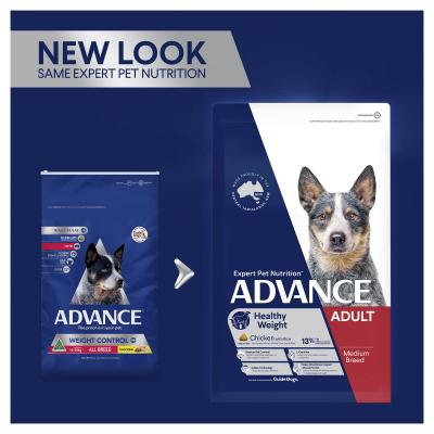 Advance Healthy Weight Chicken All Medium Breed Adult Dry Dog Food 13kg