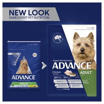 Advance Chicken Toy/Small Breed Adult 1-8 Years Dry Dog Food 3kg
