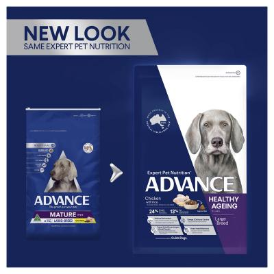 Advance Chicken Large/Giant Breed Mature 5+ Years Dry Dog Food 15kg