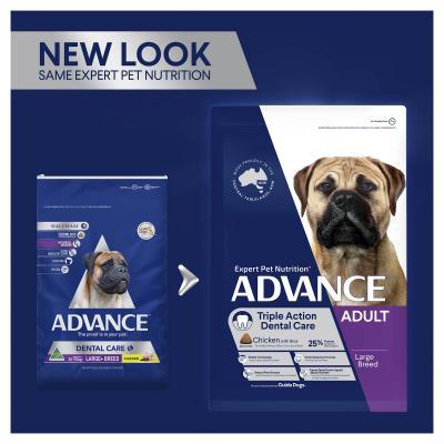 Advance Dental Care Chicken Large/Giant Breed Adult Dry Dog Food 13kg