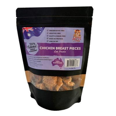 Loving Pets Chicken Breast Pieces Natural Dried Treats For Cats 80gm