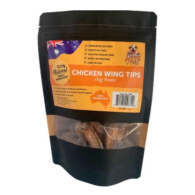 Loving Pets Chicken Wing Tips Natural Dried Treats For Dogs 100gm