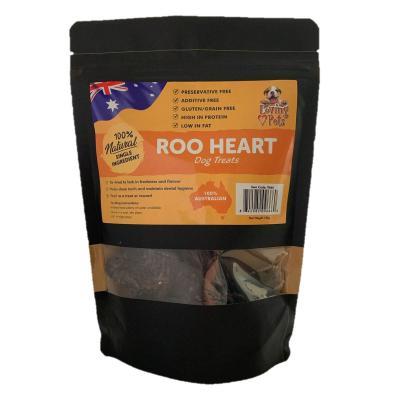 Loving Pets Kangaroo Heart Natural Dried Treats For Dogs 100gm