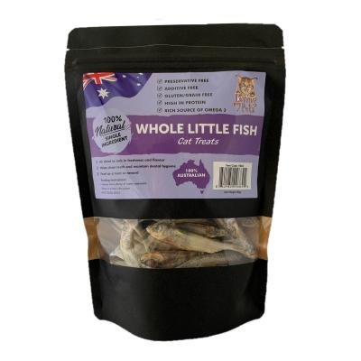 Loving Pets Whole Little Fish Natural Dried Treats For Cats 80gm