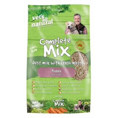 Vets All Natural Complete Mix Puppy Raw Dog Food 15kg