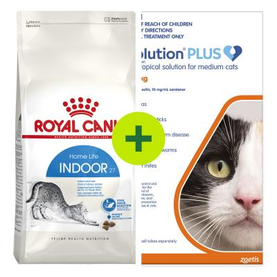 Royal Canin Dry Food Plus Flea Tick Worm Protection For Cats