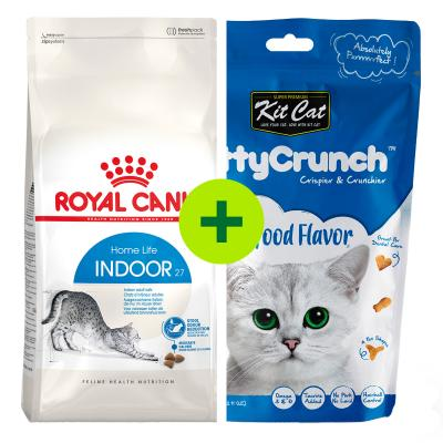 Royal Canin Dry Food Plus Treats For Cats