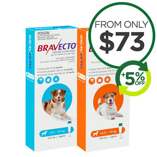 Bravecto Spot On Dog