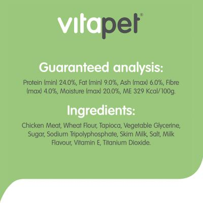 Vitapet Milky Sticks Treats For Puppies And Dogs 100g